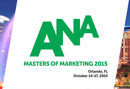 Poster for ANA Masters of Marketing