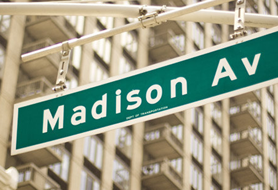Madison Ave sign