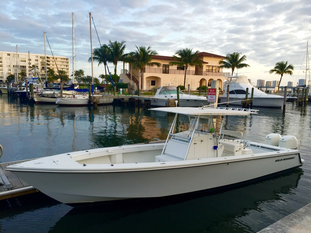 Custom Legend 34' Center Console - Capt Mike's Fishing Boat