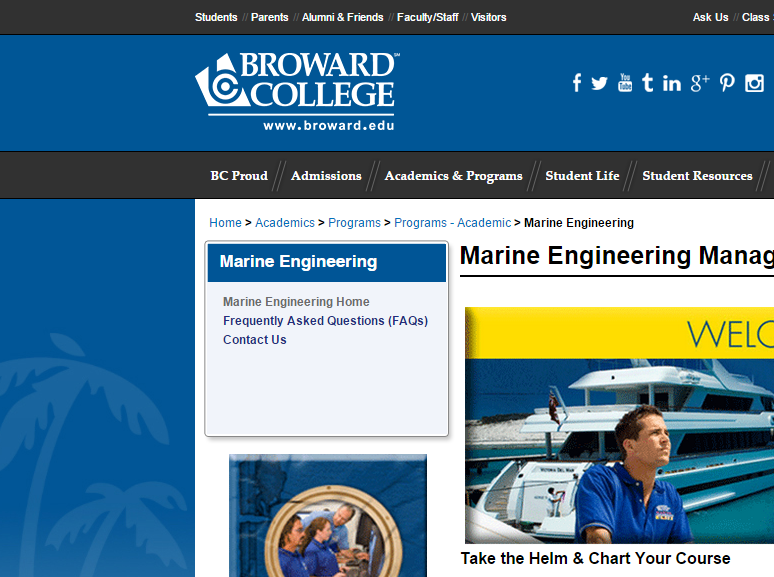 Broward College: Marine