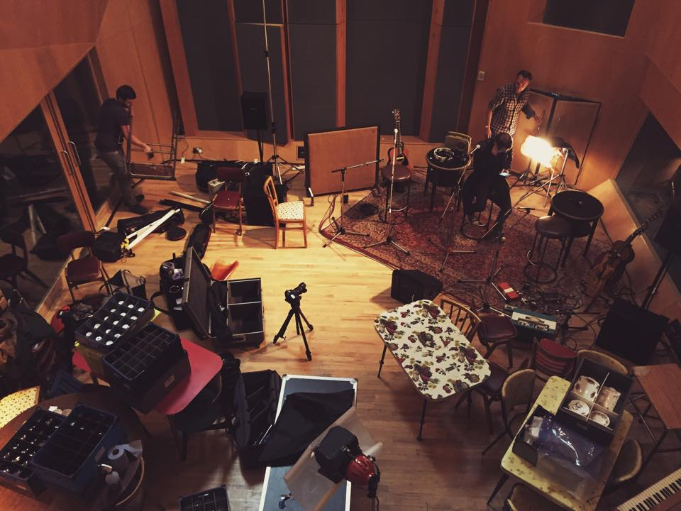 May 7th 2015 - Abbey Road Studios sessions.