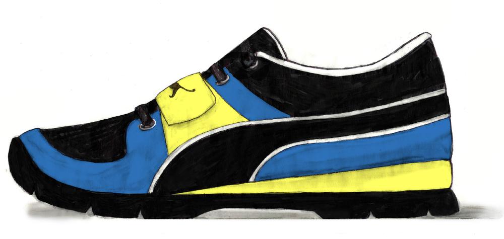 sneaker medial