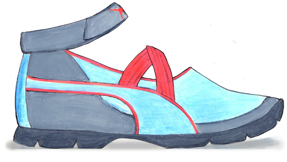 sandal lateral