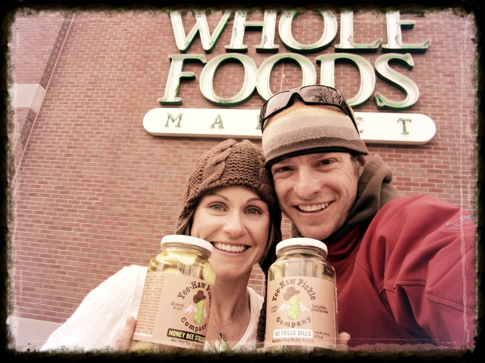 We launched with four Utah Whole Foods Markets three months later.
