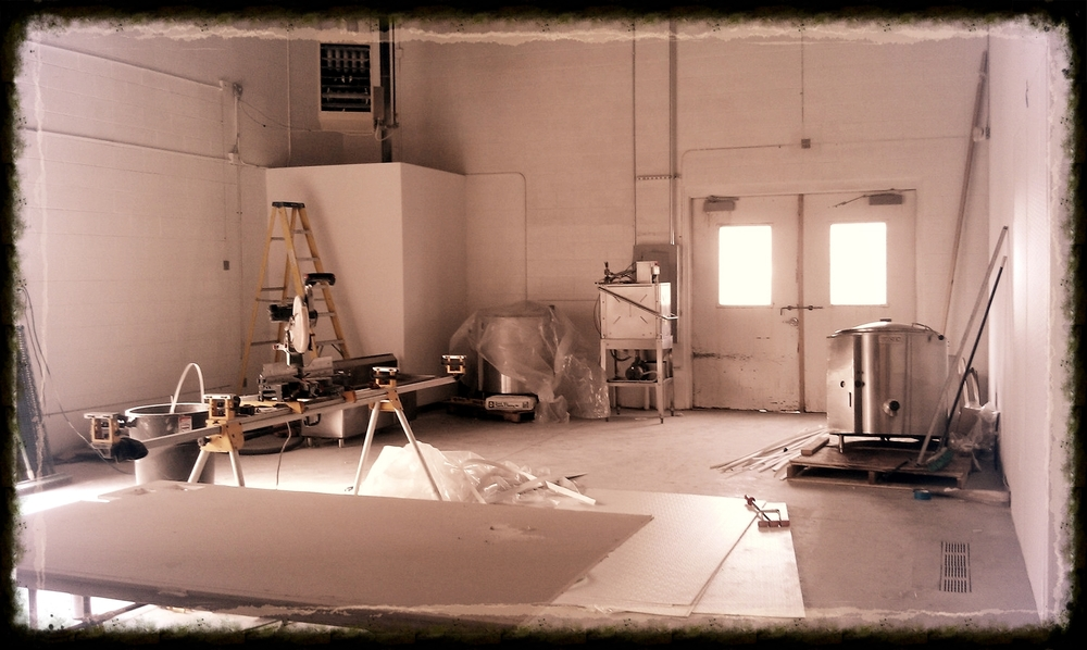 We needed to increase production so we started building out our own commercial kitchen in February 2013.