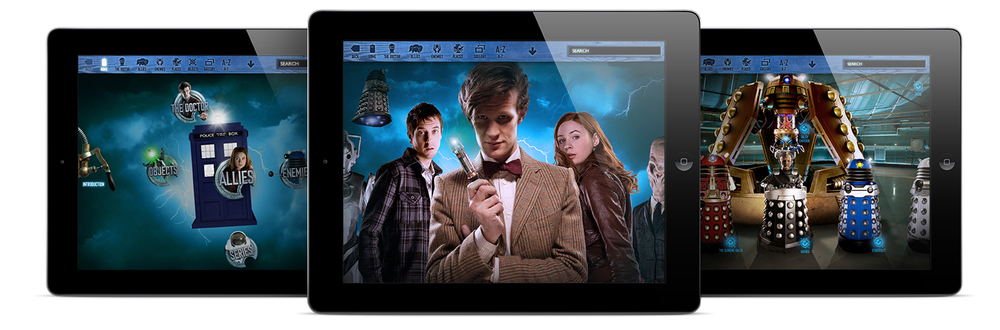 dr who encyclopedia app