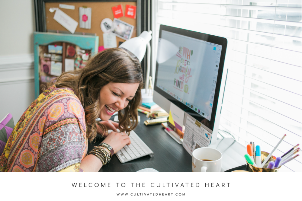 The Cultivated Heart is meant to help you sow a fulfilling life by cultivating your heart.   Photo by: Chloe Giancola Photography