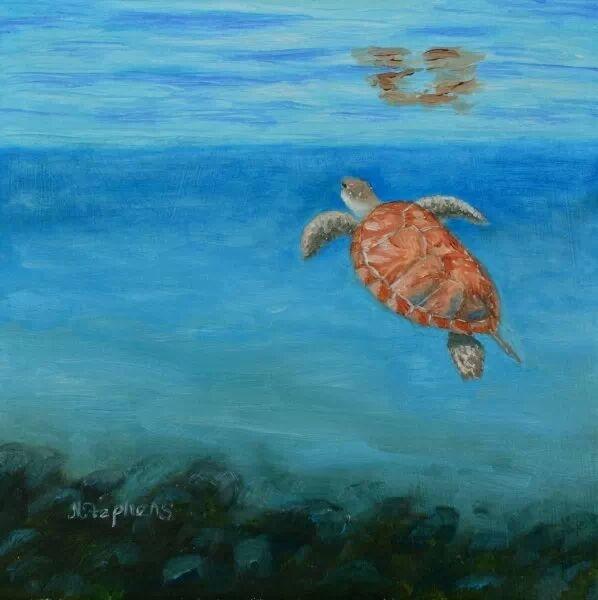 work by artist Nina Stephens