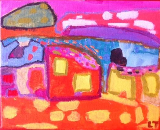 By Art House student Lyla, age 8.
