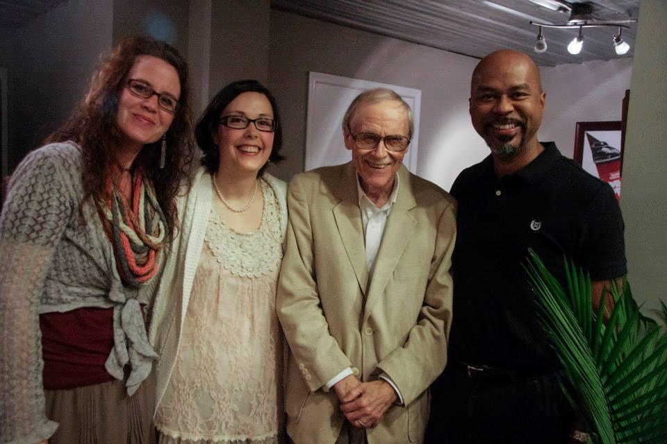 Schuder, Honaker, Miller and Smith: poets during HAT 2013