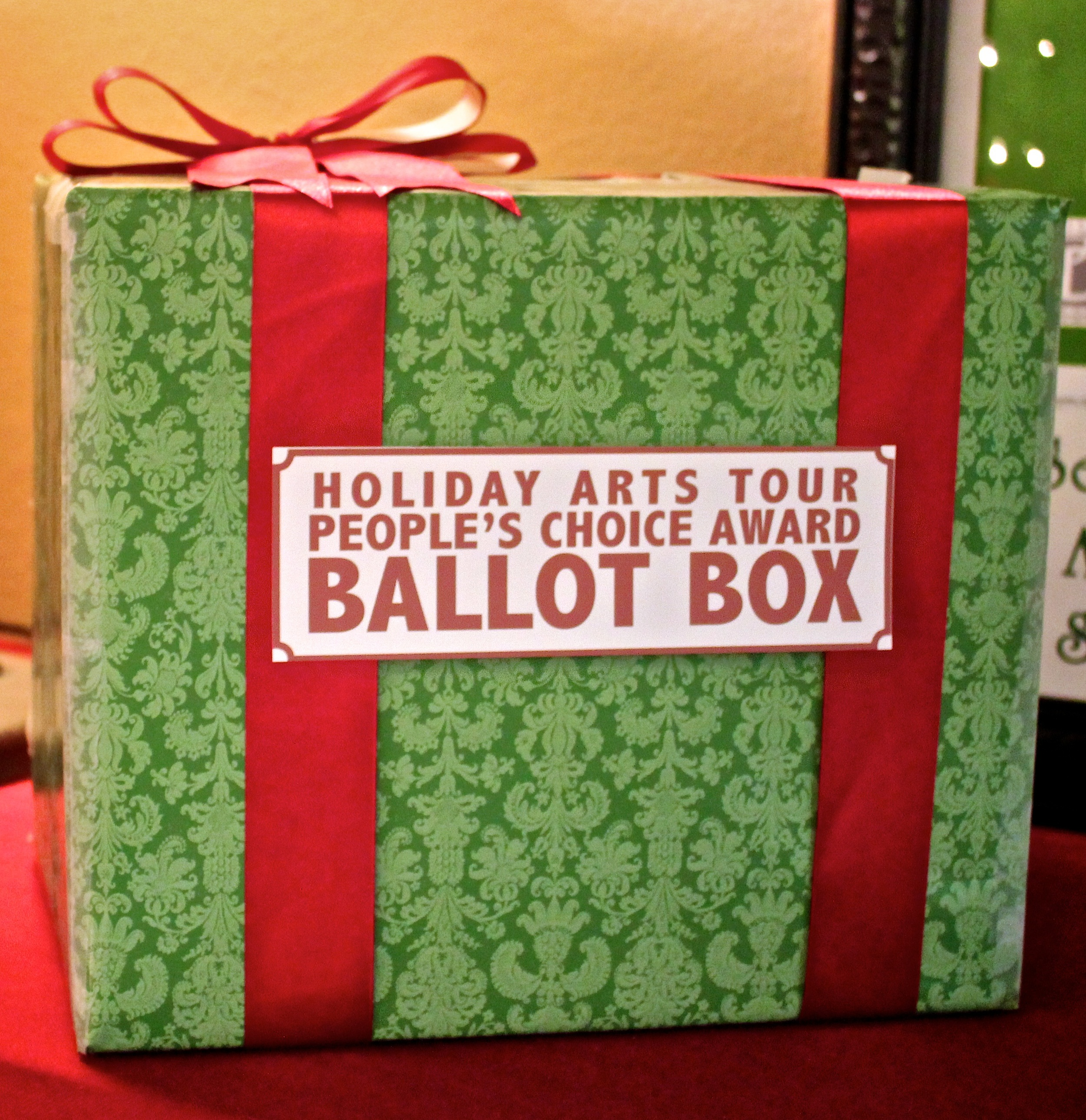2013 People's Choice Ballot Box