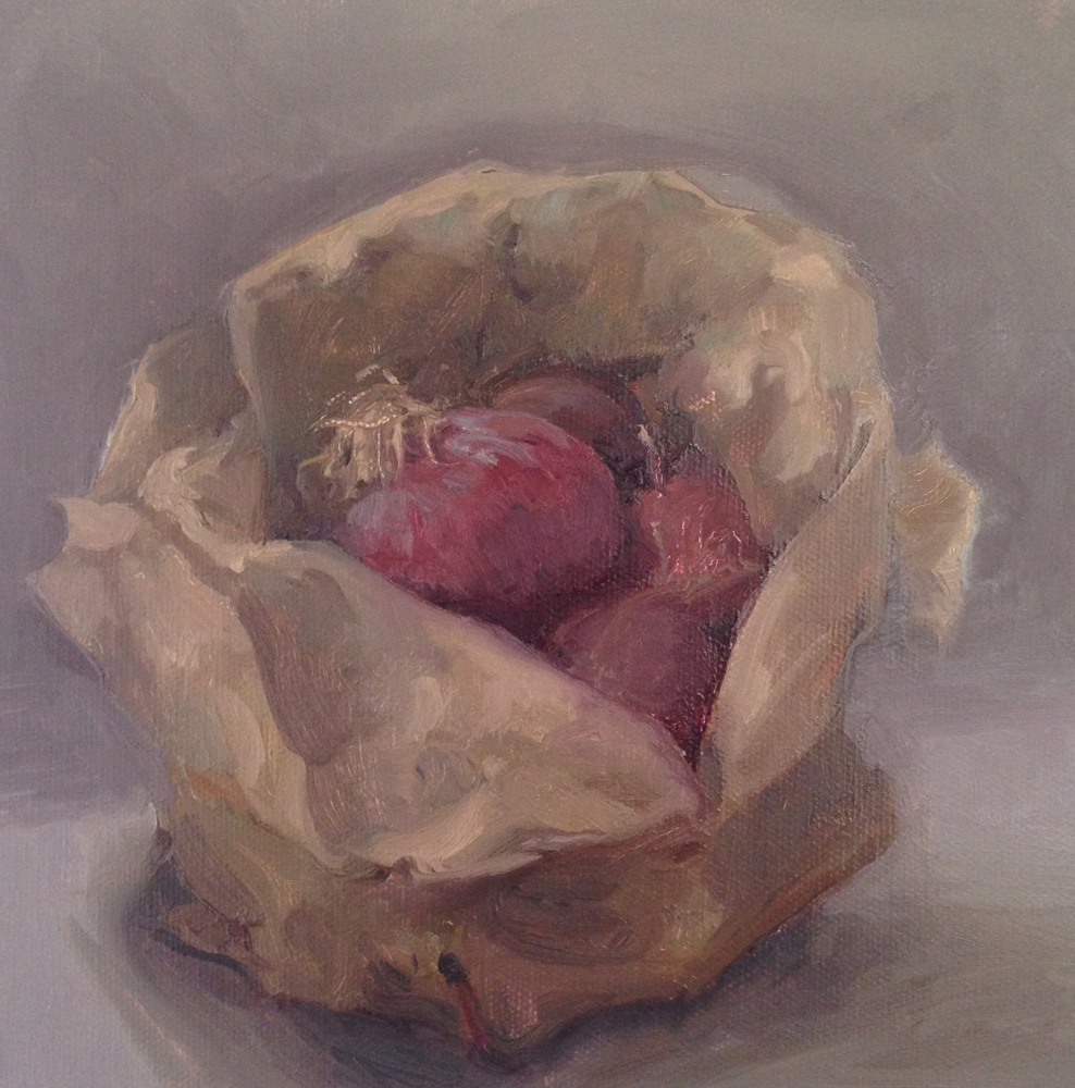 Bag of Onions, by Nicole Duet