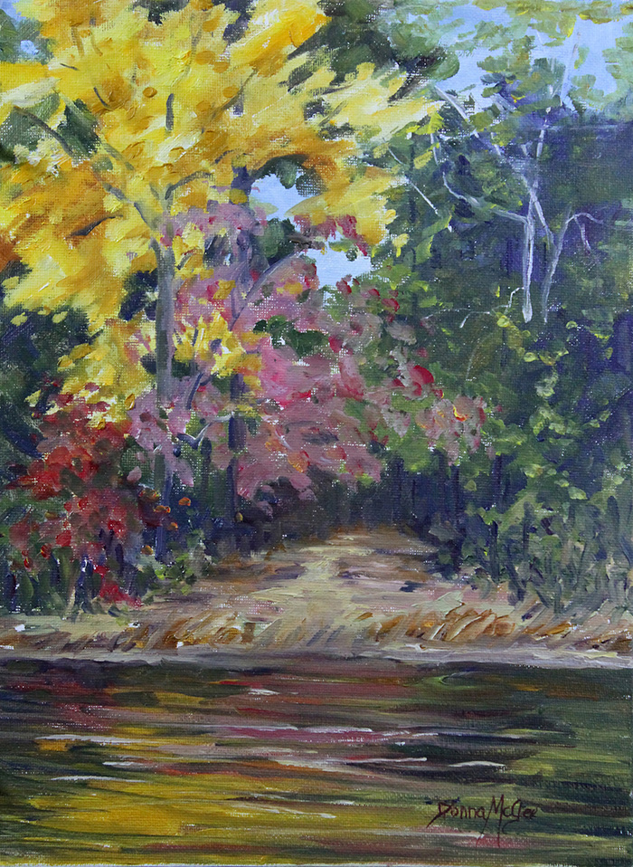 Kiroli Hickory, Oil Plein Air, 12X9 Inches, 161125.jpg