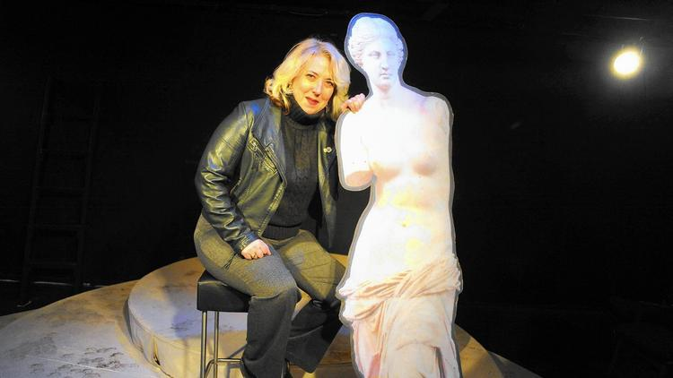 Deb Randall is the founder of Venus Theatre in Laurel. (Staff photo by Brian Krista, Baltimore Sun Media Group)
