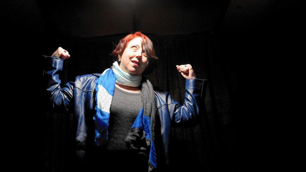 Deborah Randall, founder of the Venus Theatre Company in Laurel on Thursday, Feb. 9. (Brian Krista / Baltimore Sun Media Group)