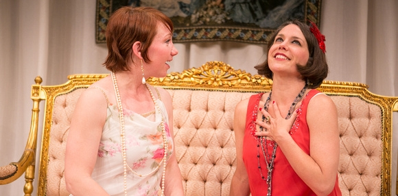 Maria in On Approval at the Washington Stage Guild, with Megan Dominy
