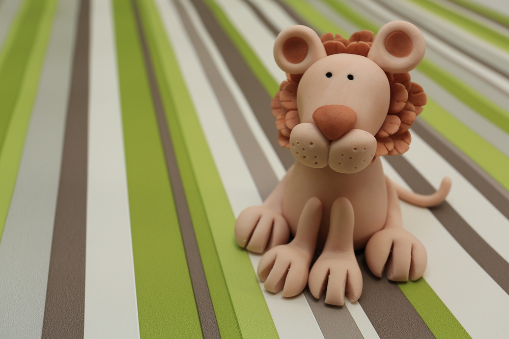 Cute boy Girl Lion Cake Topper