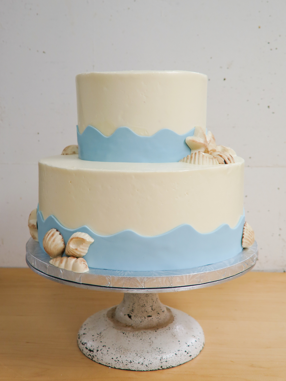 Seaside Beach Shell Cake