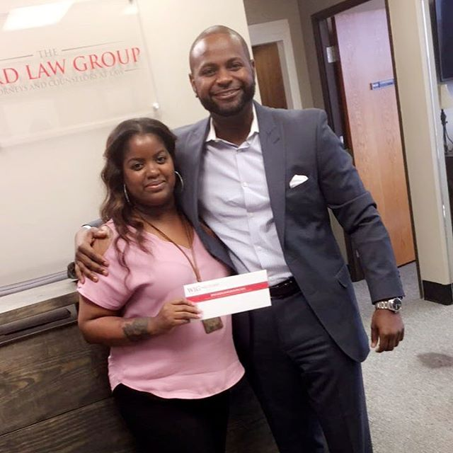 Ms. Smoots came to pick up 2 checks: one for her injuries- and another for her car.  We also provide assistance with your car repair and replacement claim, in addition to fighting for the money that you deserve for your injuries!  www.dwardlawgroup.com (214)777-3319 #dallaslawyer #dallasattorneys #dallasjailrelease #dallascriminaldefense #dallascarwrecks #dallaspersonalinjury #demarcusward #24hourjailrelease #dwardlawgroup #dallasblack #dallaswarrants #dallaswarrantroundup #warrantroundup #weliftwarrants #warrantslifted #dallastraffictickets #dfwtraffictickets #criminaldefense #personalinjurylawyer