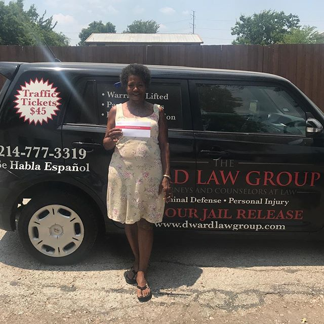 Many law firms rejected your case. But we worked for you!  Thank you for letting us handle your car wreck case! www.dwardlawgroup.com dfwcarwrecks.com (214)777-3319 #dfwcarwrecks #dallaslawyer #dallasattorneys #dallasjailrelease #dallascriminaldefense #dallascarwrecks #dallaspersonalinjury #demarcusward #24hourjailrelease #dwardlawgroup #dallasblack #dallaswarrants #dallaswarrantroundup #warrantroundup #weliftwarrants #warrantslifted #dallastraffictickets #dfwtraffictickets #criminaldefense #personalinjurylawyer