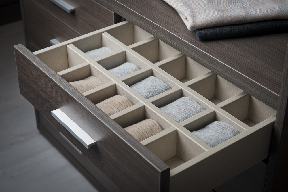 Drawer Dividers  Ideal for neat and tidy storage and a great way to display smaller items such as socks, watches and jewellery.