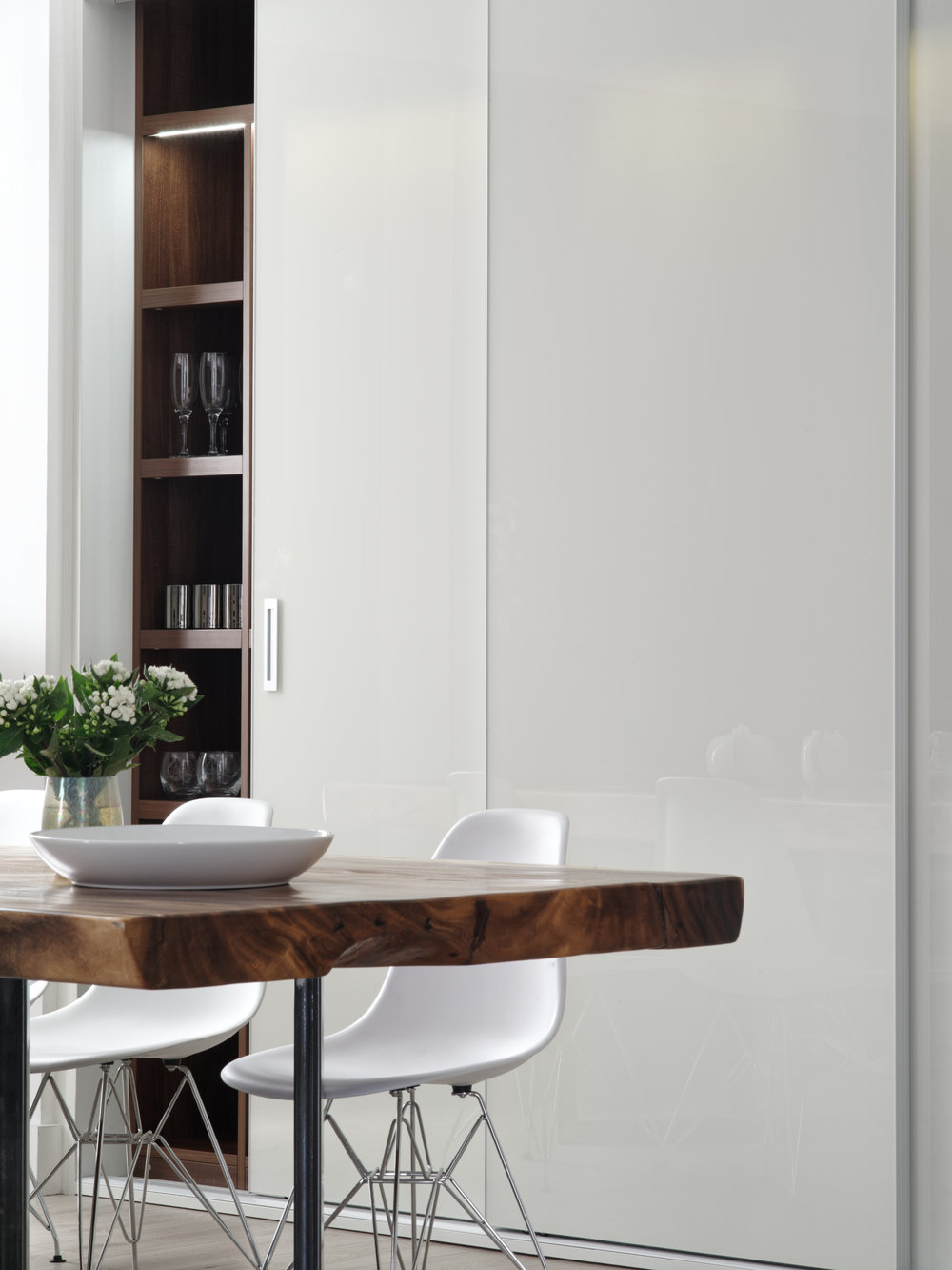 White Cloister Doors