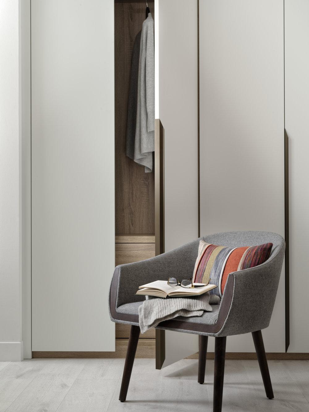 White Matt Lacquer Doors