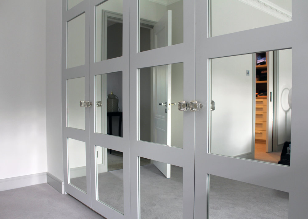 Bespoke Colour Shaker Doors  with Silver Mirror Panels (1).jpg