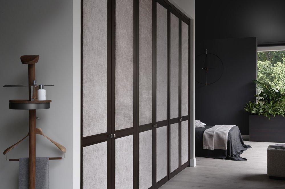 Shaker Fabric Doors