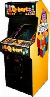 Q-Bert Arcade Game