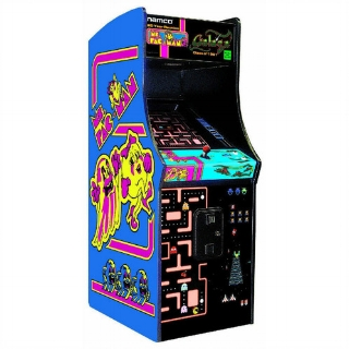Ms Pac-Man / Galaga Combo Machine
