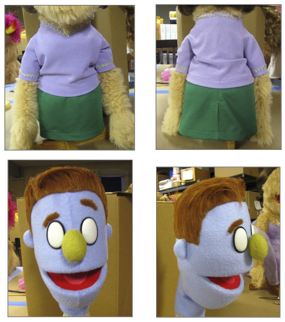Stiching Work, Avenue Q Paris, Rick Lyon Studios 2012