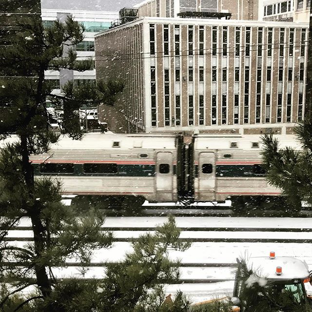 Did I mention trains pass outside my office window??