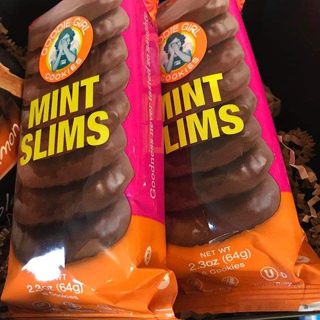 Almost like it's a bad translation of Thin Mints from another language.