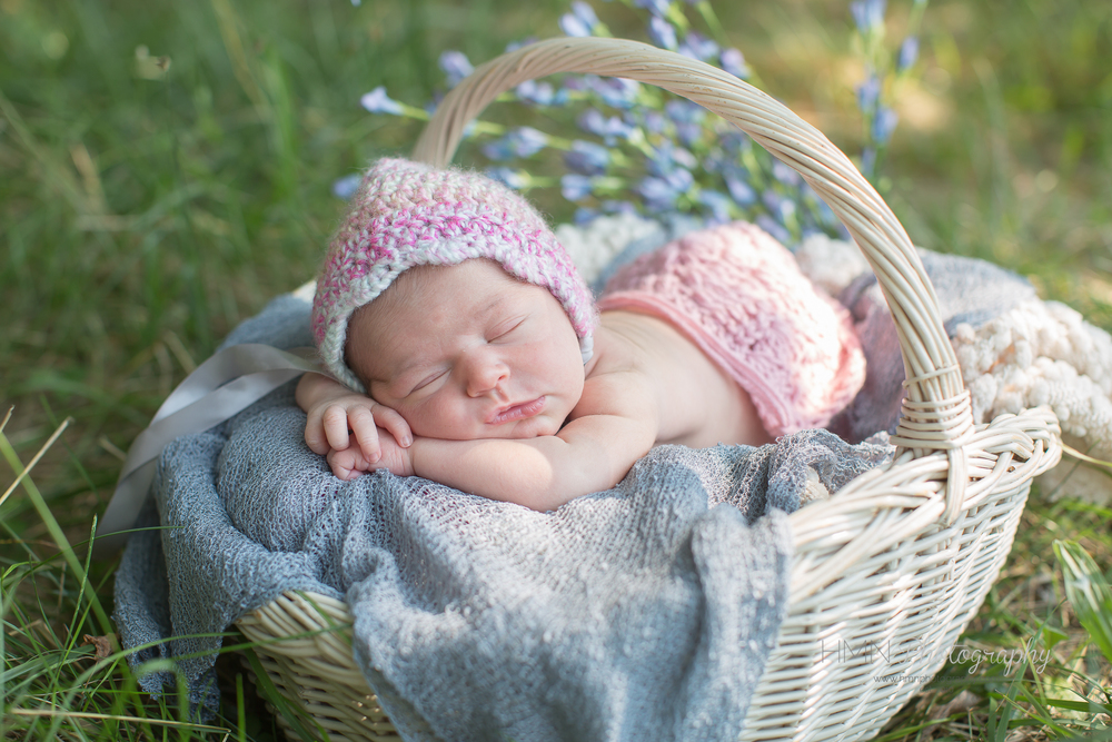 Outdoor Newborn Session