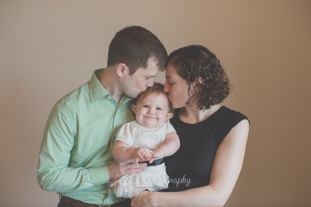 In Studio Family Session. Remington, VA