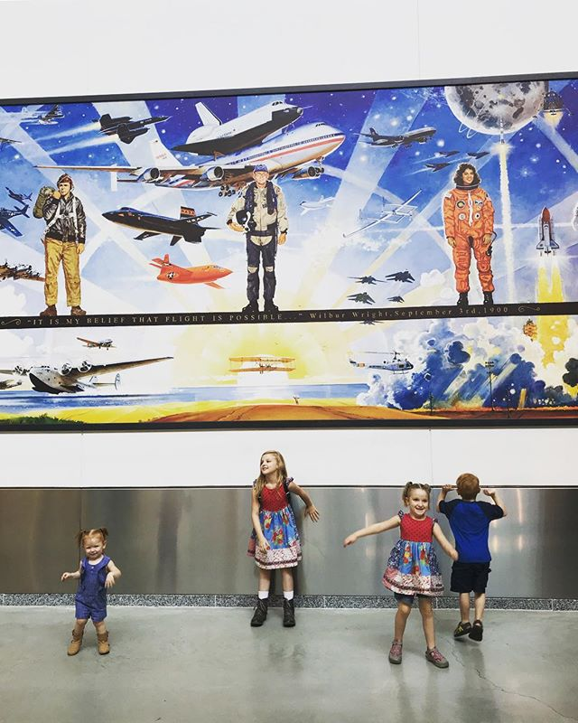 Happy Labor Day! We spent some good quality time with our kids this morning after a long work weekend! #airandspacemuseum