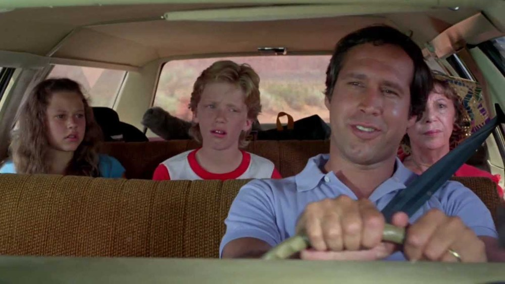 From the movie Vacation. Sometimes we can't force a family trip.  It's ok to do separate things.