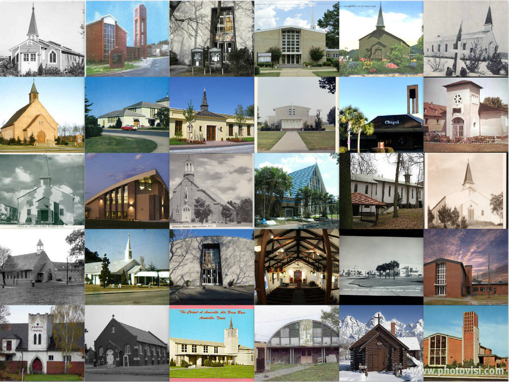 CHAPELS COLLAGE