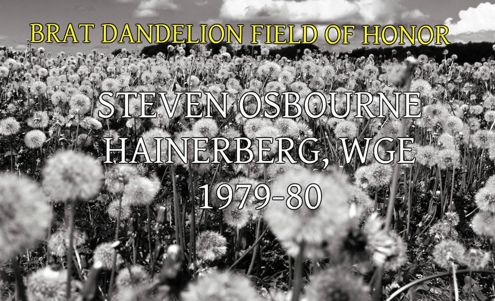 STEVEN OSBOURNE HAINERBERG WGE
