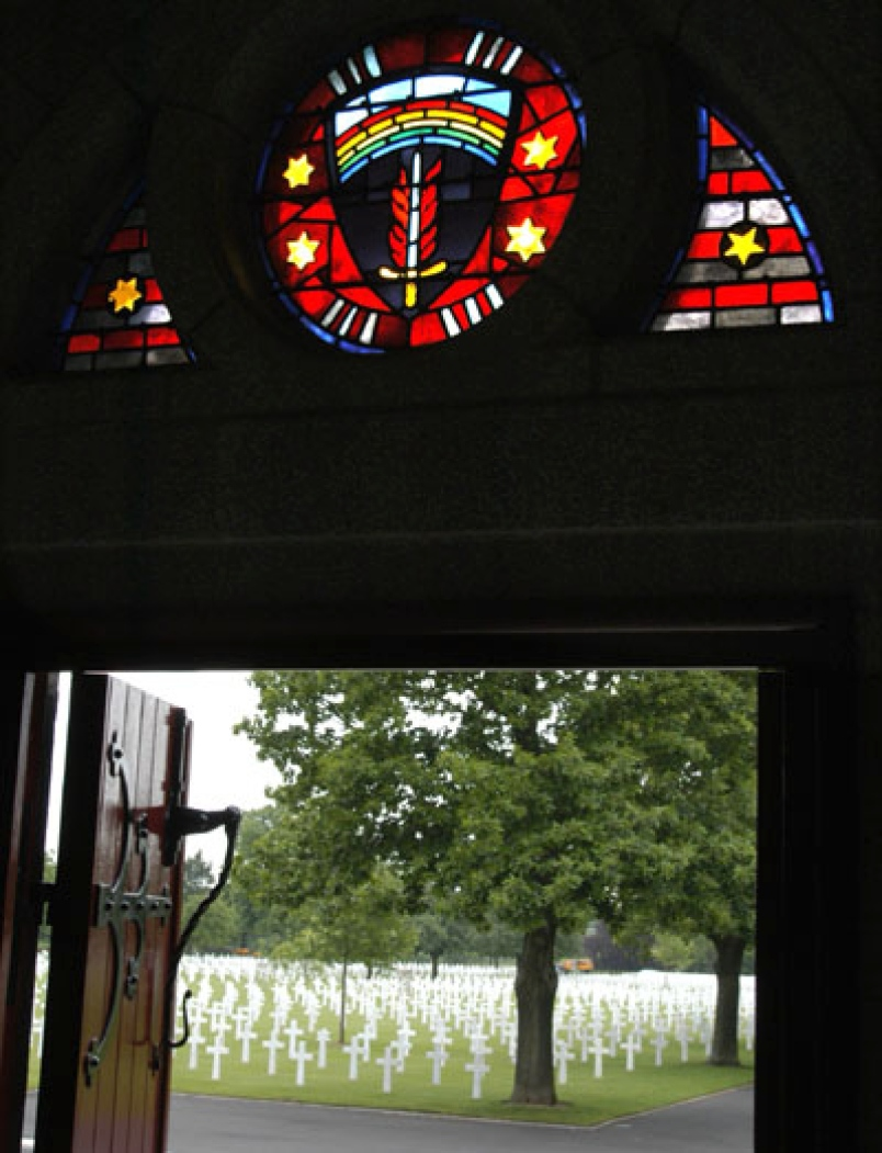 Brittany American Cemetery Chapel