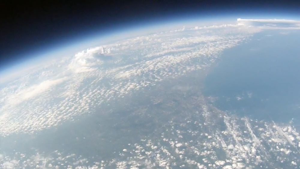 View of Earth's edge, by CCI partners: JuneSky.
