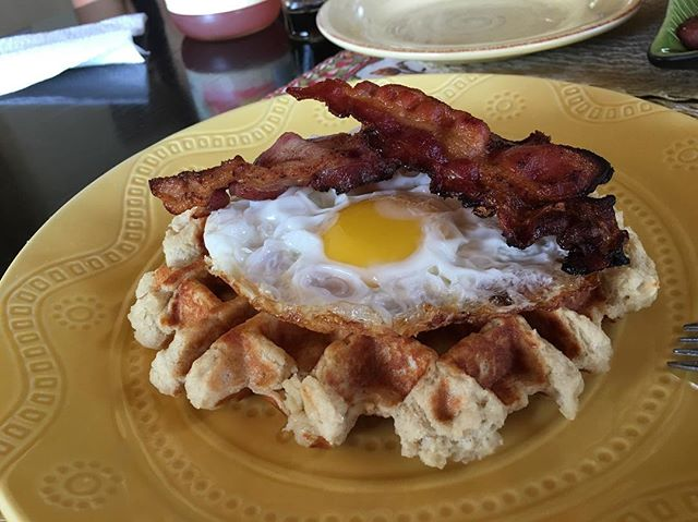Buenos Dias amores! Obsesionada con estos Waffles 😍
