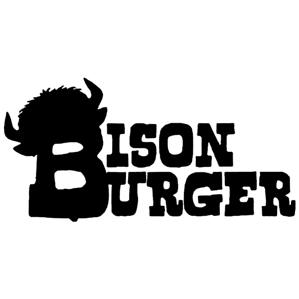 Explore your wild side with a Bison Burger.  100% American Buffalo patty served on a sesame seed bun, melted bleu cheese, and caramelized onions.