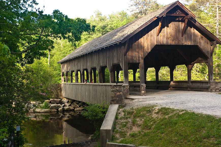 Rare covered bridges are hard to find