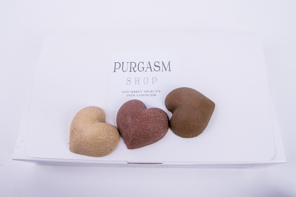 assorted purgasm truffles are not to be eaten