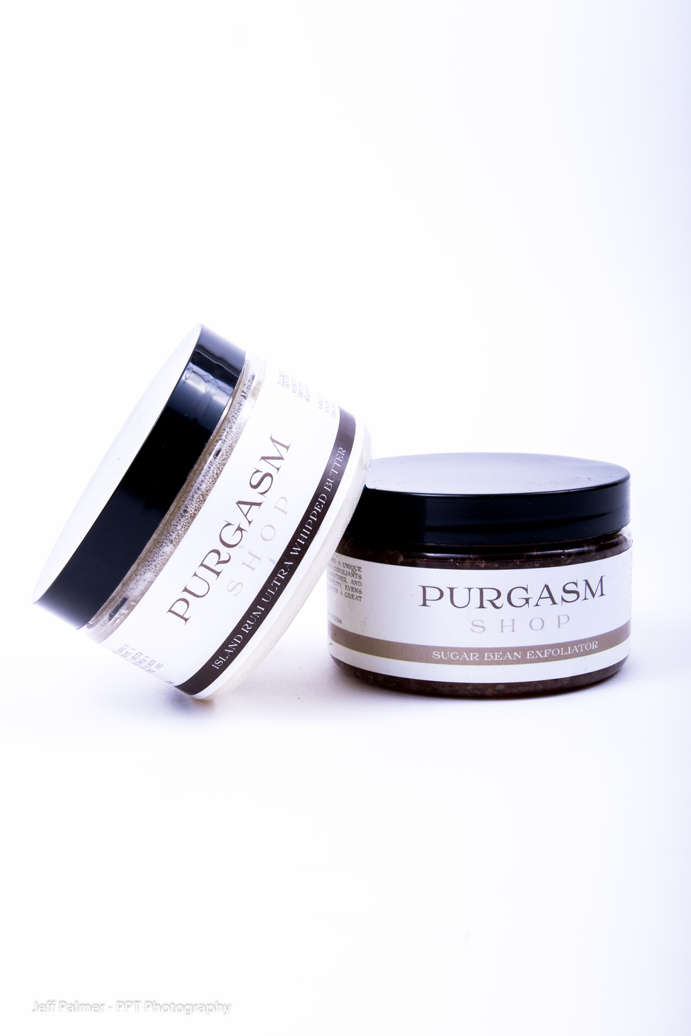 Island whipped butter, and sugar scrub are best sellers