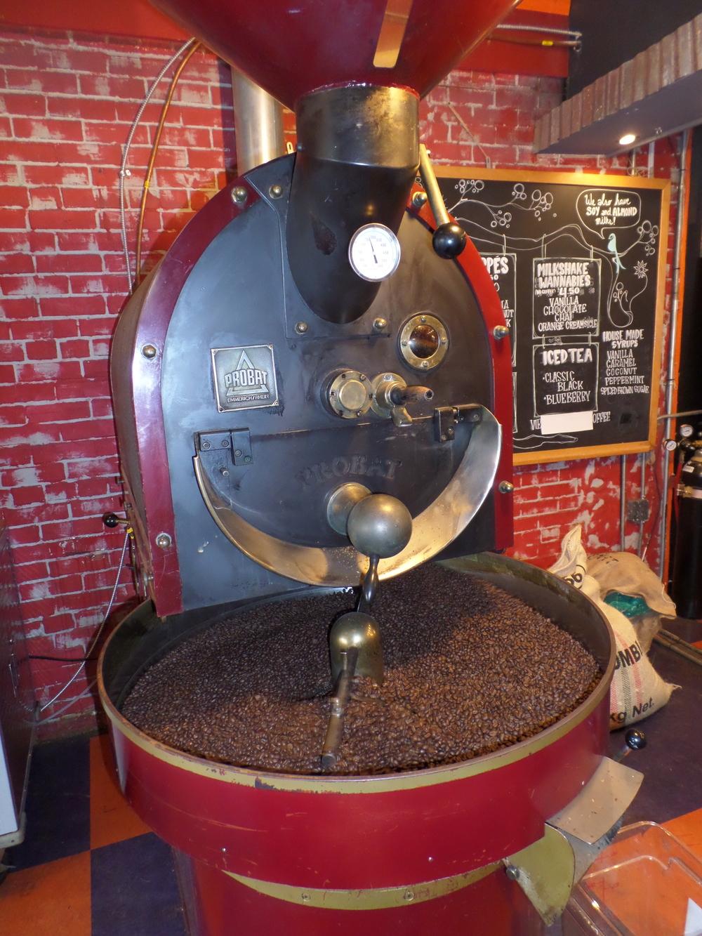 Vintage Coffee Roasting Machine