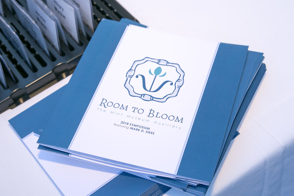 Mint Museum Auxiliary - Room to Bloom Brochure