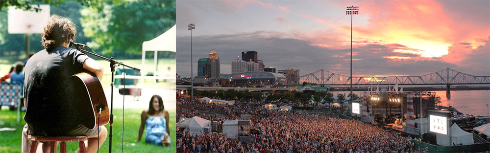 Forecastle :: Then and Now